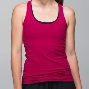 Lululemon Cool Racerback Bumble Berry Tank Top